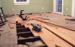 Утепляем деревянный, бетонный, металлический пол опилками — правильная укладка «пирога»
